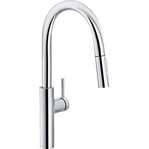 Franke Kitchen Sink tap with Pull-Out spout Pescara L Slide-in-Chrome 115.0538.940, Grey