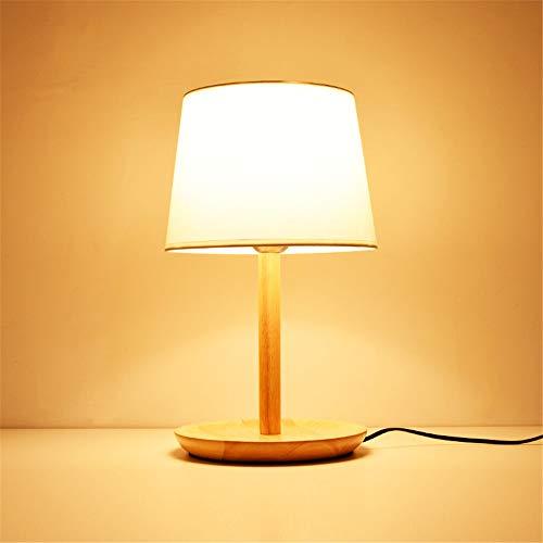 YU-K Hôtel est décoré dans un style minimaliste light lampe de table bar en bois chaleureux chambre lampe de table lampe de chevet,20 * 41cm,5W Lumière chaude