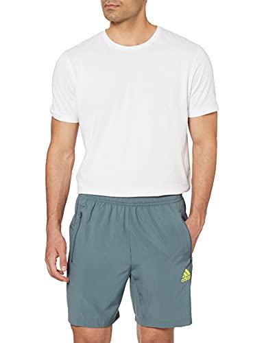 adidas GT8164 M WV SHO Pantaloncini Uomo Blue Oxide L