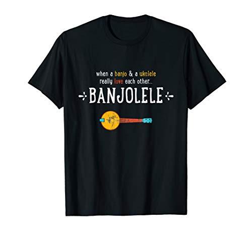 Banjolele Banjo Ukulele Funny Shirt