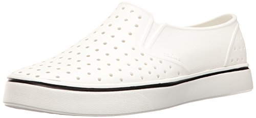 Native Miles Water Shoe, Shell White, 9 Men's M US
