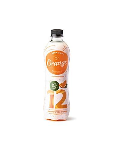 Sodapop Getränkesirup, PET, Orange, Classic 500 ml