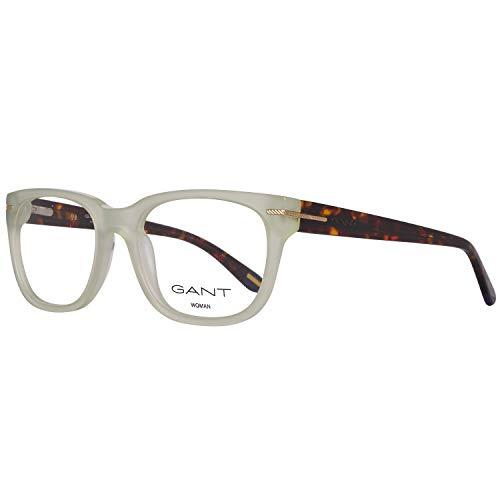 GANT GA4058 52093 Gant Brille GA4058 093 52 Oval Brillengestelle 52, Weiß