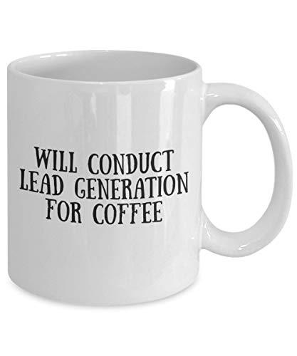 DKISEE koffiemok zal leiden leiden generatie voor koffie zwart vullen witte mok koffie thee mok Cup voor kerst Thanksgiving Festival vrienden cadeau cadeau 11oz Kleur: wit