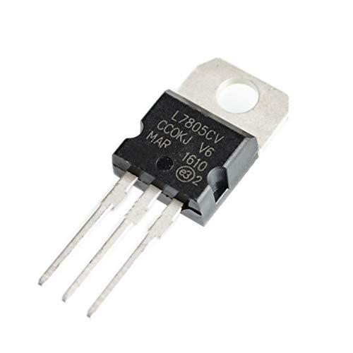 10pcs L7805CV L7805 7805 Regulador de voltaje 5VTO-220