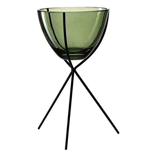 Leonardo - Casolare - Leuchter auf Fuss - Glas/Metall - (HxBxT) 22 x 12 x 12 cm