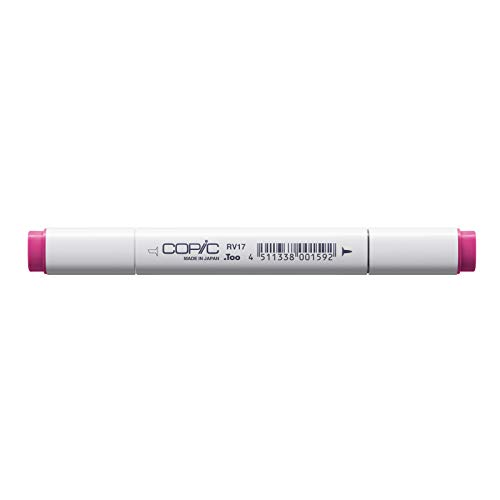 Copic Marker with Replaceable Nib, RV17-Copic, Deep Magenta