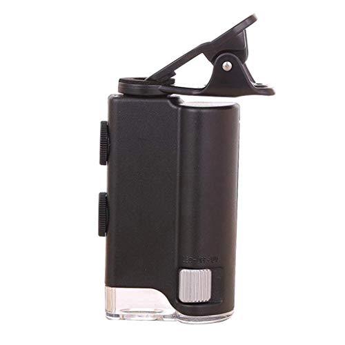TIN-YAEN ingrandimento, LED Magnifier Zoom 60X-100X microscopio for i monili di Biologia cellulare UV valuta Detectting Valutazione microscopio Accessori da scrivania