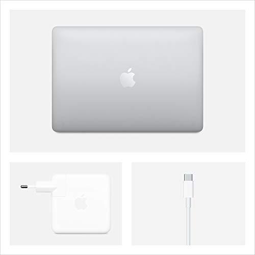 2020 Apple MacBook Pro (13, Intel i5 Chip, 16GB RAM, 1TB SSD Lager, Magic Keyboard, Vier Thunderbolt 3 Anschlüsse) - Silber
