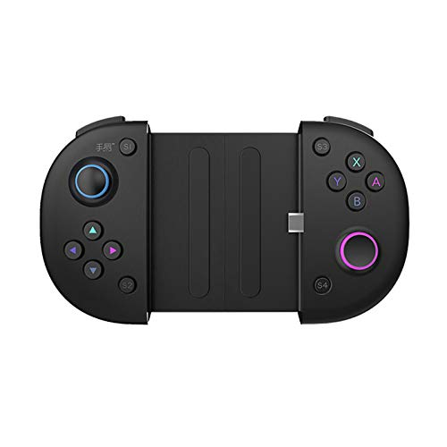 mewmewcat N1 Mobile Game Controller para Android Phones com Type-C Port Cloud Gaming Ready Type-C Passthrough Charging Clickable Gamepad Joystick analógico