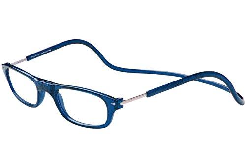 TBOC Gafas de Lectura Presbicia Vista Cansada – Montura Azul Graduadas +1.00 Dioptrías Hombre...