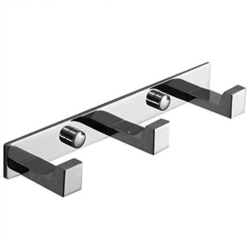 Kapstokhaken, Wall Kapstokken Roestvrij Staal Eenvoudig Ontwerp Badkamer Keuken Slaapkamer Wall Hanger (Size : 4 Hooks)