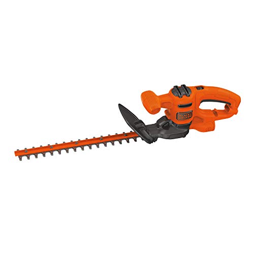 BLACK+DECKER Electric Hedge Trimmer, 16-Inch (BEHT100)