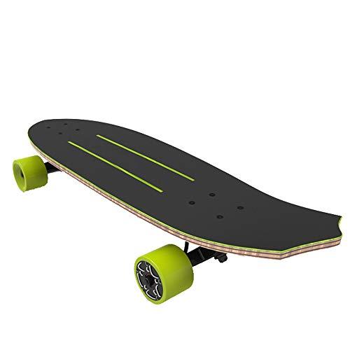 Dapang Leichtes Elektro-Skateboard mit Single & Dual Brushless Hub Motor, Fernbedienung Elektroroller, Professional Sport Skateboard - Street, All-Terrain, 2 in1 Modelle,5.8ah*