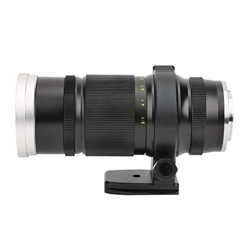 Sxhlseller Lente Súper Macro de Enfoque Manual de Gran Apertura de 85 Mm F2.8 1X-5X para Cámara Canon con Montura EF
