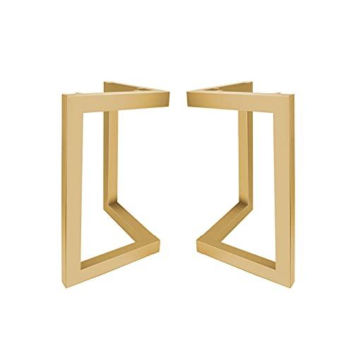 Patas de Mesa Industriales Patas para Muebles de Acero DIY Perfecta para Tienda de Café Bar de Oficina en Casa Conjunto de 2
