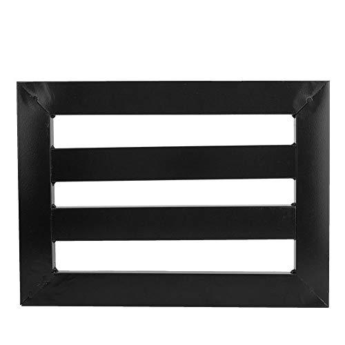 Soporte de tablero de pedal de efecto de guitarra de metal portátil universal Peadlboard accesorios de instrumentos negro para guitarra eléctrica