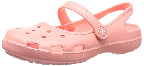 Crocs Shayna Damen Durchgängies Plateau Ballerinas, Pink (Melon 737), 42-43