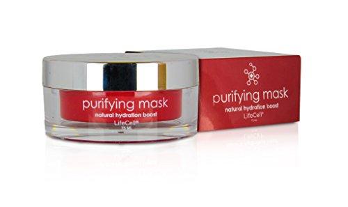 Purificación de lifecell máscara hidratación Natural Boost crema 75ml