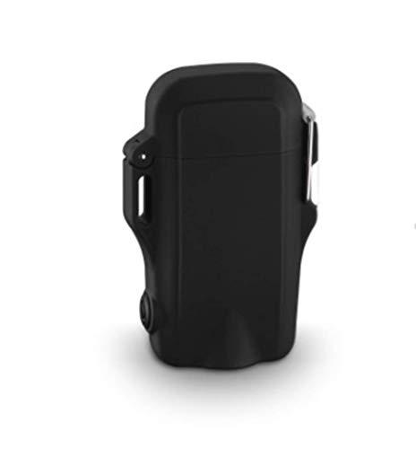 Waterdichte aansteker Dual Arc Windproof Vlamloos Plasma Oplaadbare USB Aanstekers Zaklamp voor Wandelen Reizen Camping Outdoor Survival B