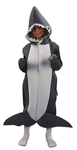 Rire Et Confetti - Fiaani013 - Déguisement pour Enfant - Costume Petit Requin - Taille S
