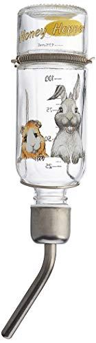 Trixie 60445 Honey & Hopper Kleintiertränke, Glas, 125 ml
