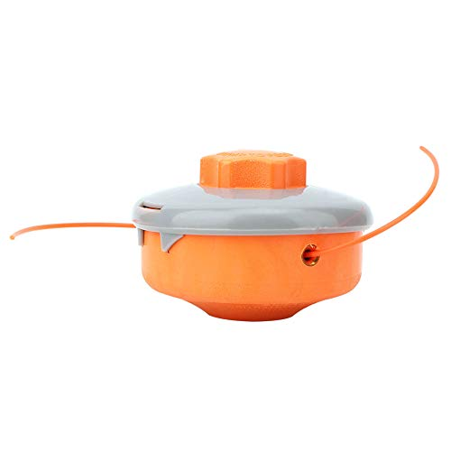 Herramienta de corte de línea, cortador de césped de plástico negro, cortador de cepillo de deshierbe de alta calidad y seguridad duradera para recortar el césped