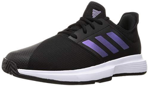 adidas Gamecourt M Tennisschuhe für Herren, Mehrfarbig (Negbás/Ftwbla), 46 EU