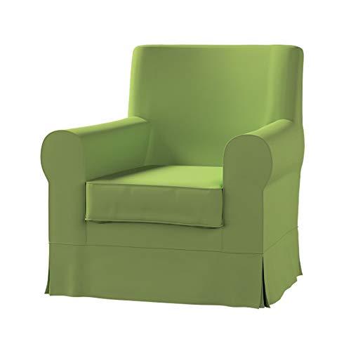 Dekoria Ektorp Jennylund Sesselbezug Sofahusse passend für IKEA Modell Ektorp Limone-grün