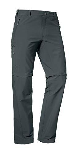 Schöffel Pants Koper Zip Off Outdoorbroek, flexibel inzetbare wandelbroek voor mannen, duurzame en waterafstotende herenbroek
