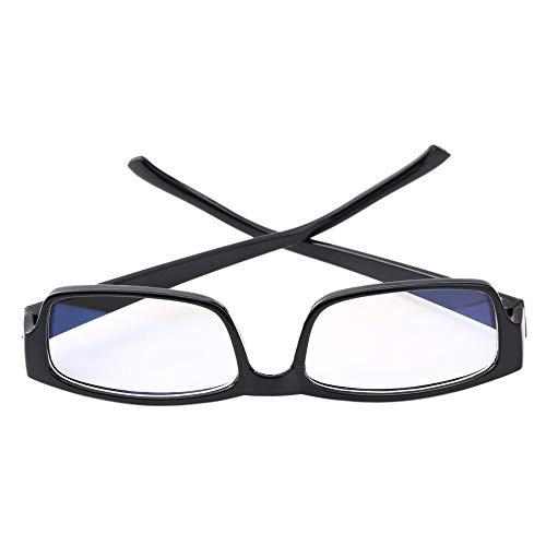 Schwarz Praktische PC-TV-Resistant Überanstrengung der Augen Schutzbrille Vision-Strahlenschutzbrillen Anti Fatigue Unisex