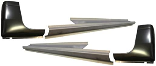 Motor City Sheet Metal - Works With 1998-01 DODGE RAM P/U 4DR QUAD CAB OUTER ROCKER PANELS AND CAB CORNERS PAIR