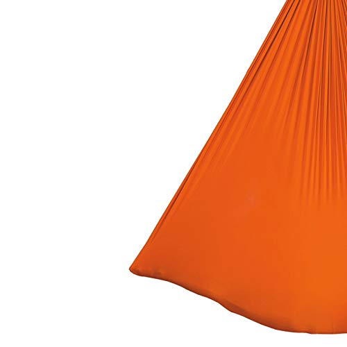 Columpio sensorial Yoga DIY Seda Pilates Pilates Premium Sedas Aéreas Equipo Aéreo Yoga Paño Hamaca Conjunto Antigravedad Yoga Swing con Mosquetón y Cadena de Daisy Accesorios Flexibilidad y fuerza ce