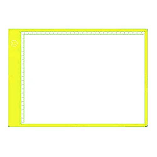 YAOQI Caixa de luz de LED regulável para tablet portátil, cabo de alimentação USB para desenho de artistas, animação, esboço, visualização de estêncil