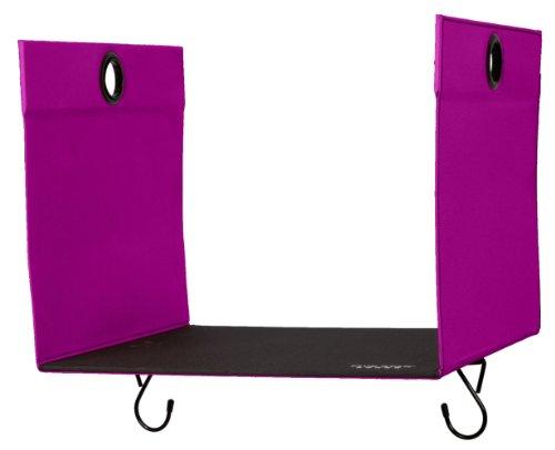 "Five Star Locker Accessories, Locker Shelf Extender, Holds up to 100 Lbs. Fits 12"" Width Lockers, Berry Pink/Purple (72892)"