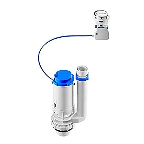 Roca A822502800 Mecanismo de doble descarga de accionamiento por cable, Blanco