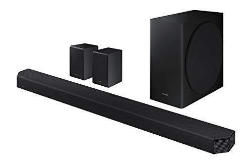Abbildung Samsung HW-Q950T Soundbar mit Wireless subwoofer und Surround Lautsprecher