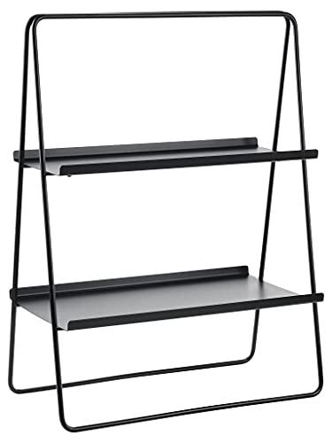 Zone Denmark A-Table Regal, Standregal aus Metall, 53 x 29 x 75 cm, Schwarz