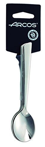 Arcos Serie Toscana, Juego de Cucharas para Café, 6 cucharas, Monoblock de una pieza en Acero Inoxidable 18y10 y 140 mm,...