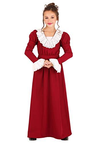 Kid's Abigail Adams Costume Large