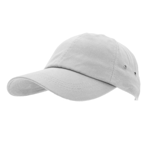 Result - Casquette 100% coton - Adulte unisexe (Taille unique) (Blanc)