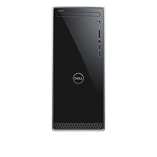 Dell Inspiron 3670 Desktop Computer, Intel 6-Core i5-9400 2.9GHz up to 4.1GHz, 12GB DDR4, 1TB HDD, Optical Drive, HDMI, VGA, Bluetooth, WiFi, Waves MaxxAudio Pro, 5-in-1 Multi-Card Reader, Windows 10