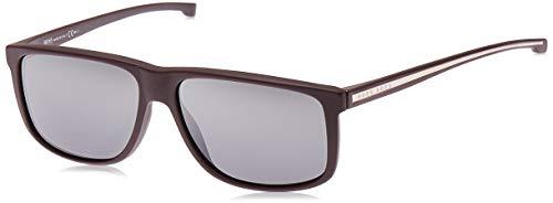 Hugo Boss BOSS0875S-0I9CN-60 HUGO BOSS Sonnenbrille BOSS0875S-0I9CN-60 Rechteckig Sonnenbrille 60, Braun