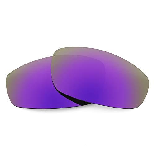 Revant Lentes de Repuesto Compatibles con Gafas de Sol Revo Discern RE3084, Polarizados, Elite Morada Plasma MirrorShield