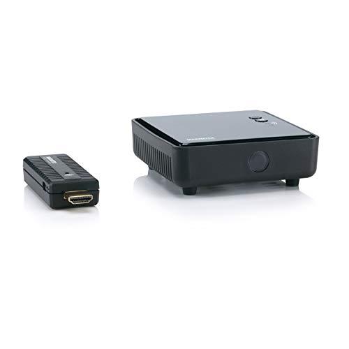 Wireless HDMI Extender - Marmitek GigaView 811 - Laptop drahtlos auf Fernseher oder Projektor streamen - HDMI Übertragung ohne Komprimierung und daher ohne Verzögerung - Full HD - 1080p - Plug & Play