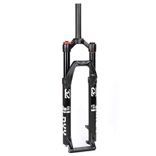 ZNND Horquilla Suspensión,Versión de Liberación Rápida 9mm Amortiguador de Bicicleta Horquilla Delantera Horquillas Neumáticas Carrera 120mm 1-1/8' (Color : A, Size : 27.5inch)