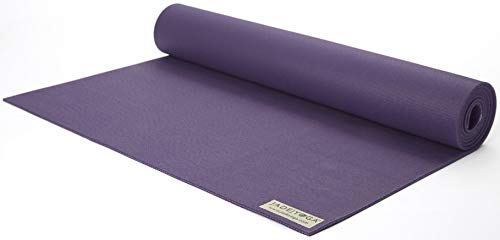JADE YOGA - Fusion Yoga Mat - Extra thick for extra comfort (68- inch, Purple)