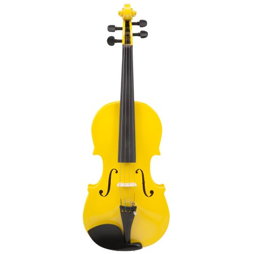 Le'Var VLNLV100YLW 4/4 Student Violin Outfit - Mellow Yellow