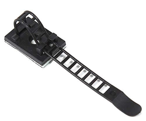 ZADAWERK® kabelklem - flexibel 50 Stück zwart