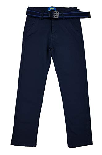 Fashion Boy warme Jungen Thermohose in dunkel Blau, Gr. 110/116, JTn5461.6